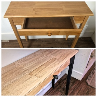 a sideboard transformation - simple to sexy