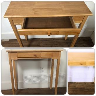 simple sideboard- before