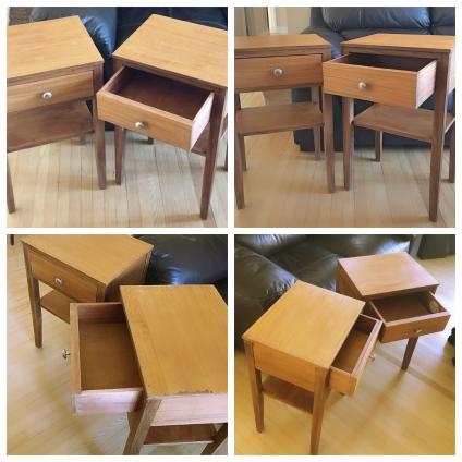 Early Scandinavian Side tables